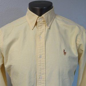 Polo Ralph Lauren Yellow Multicolor Button Shirt M